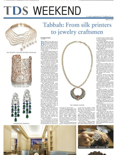 Daily star - News - Tabbah Jewelry