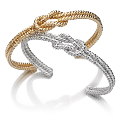 Forget me know bracelet in yellow gold - Sail away - Tabbah Jewelry