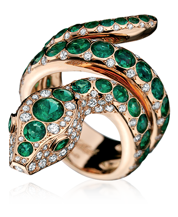 divine serpent ring - divine serpent - tabbah jewelry